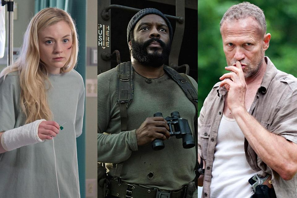 <p>a. Beth<br>b. Tyreese<br>c. Merle<br><br>(Photo: AMC) </p>