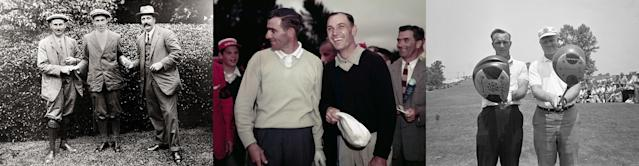 "<div class=""caption""> U.S. Open playoffs have produced memorable moments, such as Francis Ouimet's historic 1913 win at The Country Club, Jack Fleck's upset of Ben Hogan in 1955 at Olympic Club, and the mega-clash between Arnold Palmer and Jack Nicklaus at Oakmont in 1962. </div>"