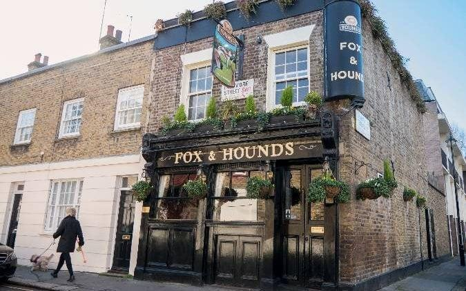 The hunt is over: the Fox & Hounds