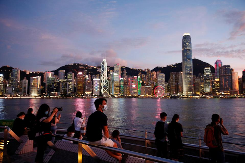 Many companies in Hong Kong are re-evaluating their office space needs, as they adopt hybrid working structures. Photo: Reuters