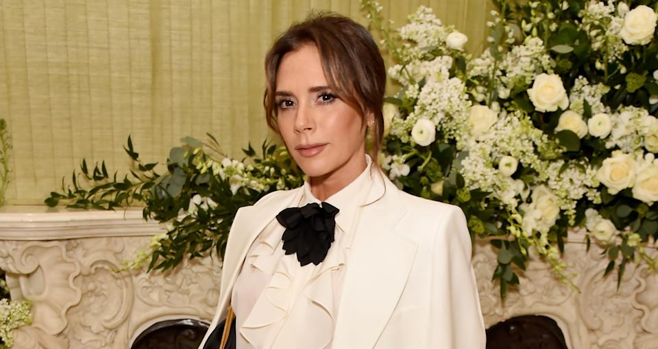 Victoria Beckham attends a party at Annabel's on February 2, 2020 in London (Getty)