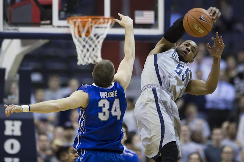 Georgetown beats No. 13 Creighton 75-63