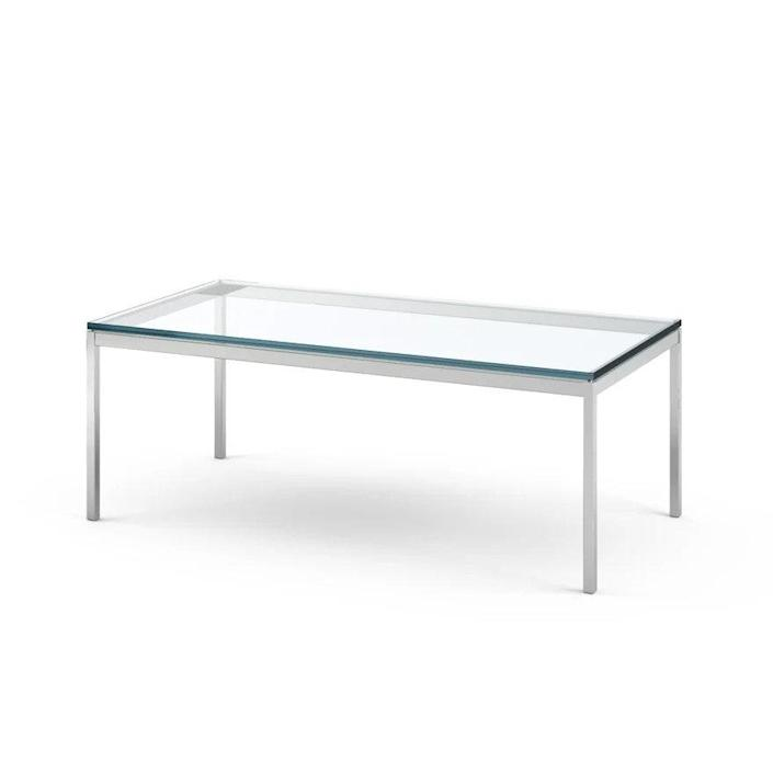 """$1152, Knoll. <a href=""""https://www.knoll.com/product/florence-knoll-coffee-table-45x22"""" rel=""""nofollow noopener"""" target=""""_blank"""" data-ylk=""""slk:Get it now!"""" class=""""link rapid-noclick-resp"""">Get it now!</a>"""
