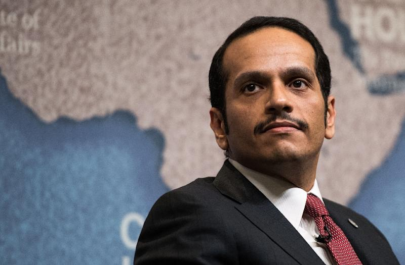 """Qatari Foreign Minister, Sheikh Mohammed bin Abdulrahman Al-Thani said the demands are """"unrealistic"""" and called for a dialogue (AFP Photo/CHRIS J RATCLIFFE)"""