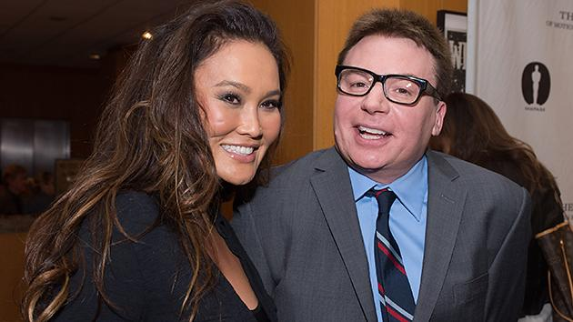 Tia Carrere, Mike Myers