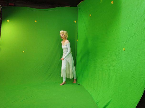 PHOTO: Sarah Ingle and her team used a green screen studio to achieve many of the special effects seen in the trailer. (Courtesy Sarah Ingle)