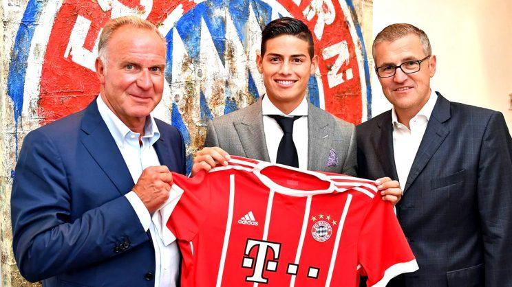 Bayern Munich signing James Rodriguez open to Real Madrid return