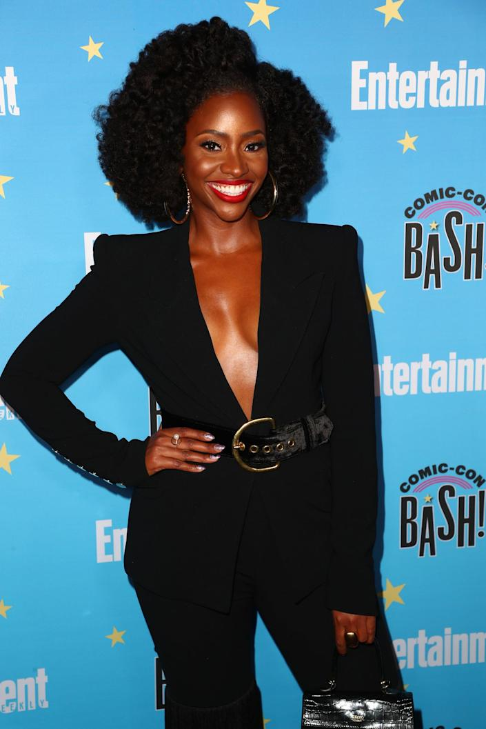 <p>Parris is set to reprise her role from <strong>WandaVision</strong> as Monica Rambeau, the grown-up daughter of Carol's BFF Maria Rambeau. While young Monica was clearly close to Carol in the first <strong>Captain Marvel</strong> movie, <strong>WandaVision</strong> has hinted at a rift between them. Now that Monica has powers of her own, it should be interesting to see how the two superpowered woman cross paths again!</p>