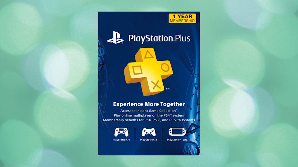 Get 12 months of PlayStation Plus for the price of six. (Photo: Sony)