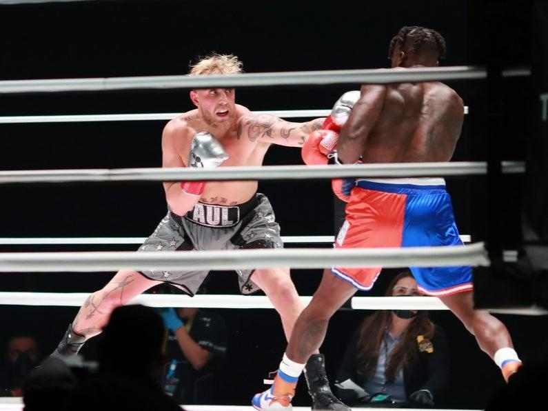 Jake Paul fights Nate Robinson (Getty Images for Triller)