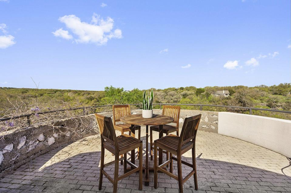 <p>There's plenty of room to spread out on the nearly 30-acre property.</p>
