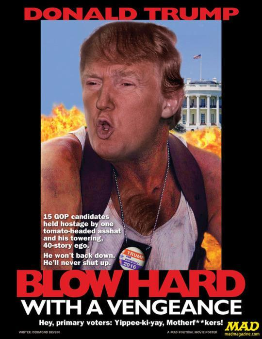 MAD Magazine Skewers The 16 Presidential Candidates With Fake Movie Posters