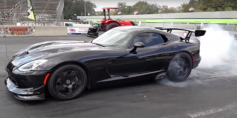 Watch the world 39 s quickest dodge viper rip an 8 4 second 1 for Motor mile auto sales