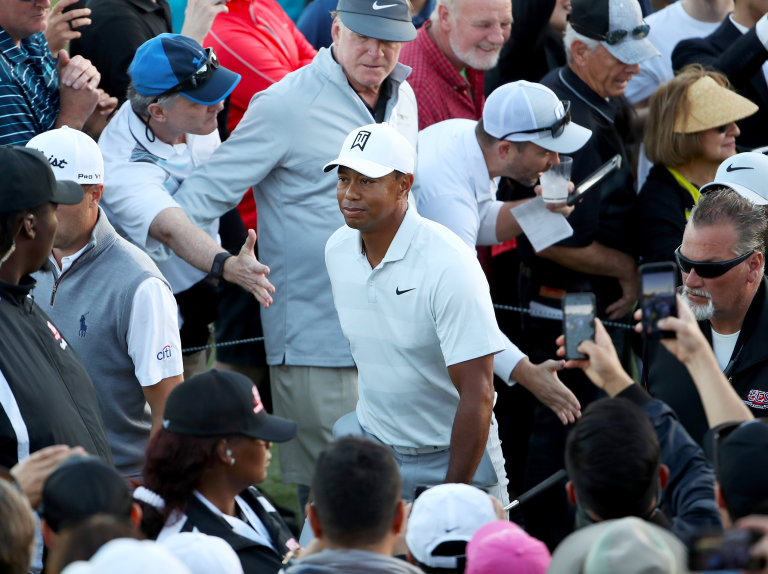 Tiger Woods loses two shots per tournament to shouts from over-exuberant fans, says Rory McIlroy