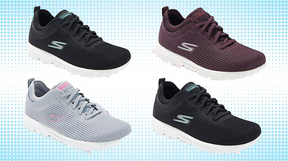 Podiatists choose Skecher for comfort and foot health. (Photo QVC/Getty)