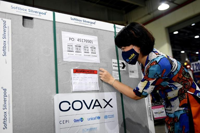 The Covax scheme seeks to ensure poor countries have equitable access to vaccines to combat the pandemic