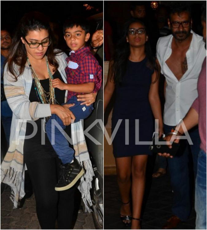 Kajol and Ajay Devgn are indeed doting parents to their kids - Nysa and Yug. Nysa has shifted to Singapore for her further education and both Ajay and Kajol ...