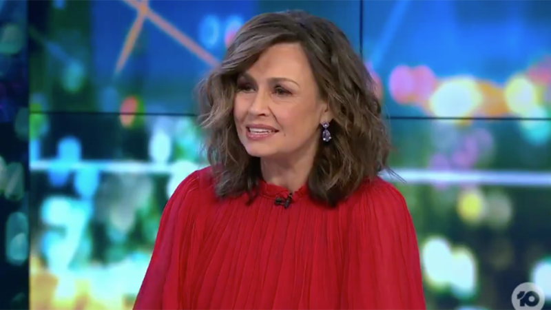 Lisa Wilkinson got emotional discussing the loss of her father on The Project. Photo: Ten