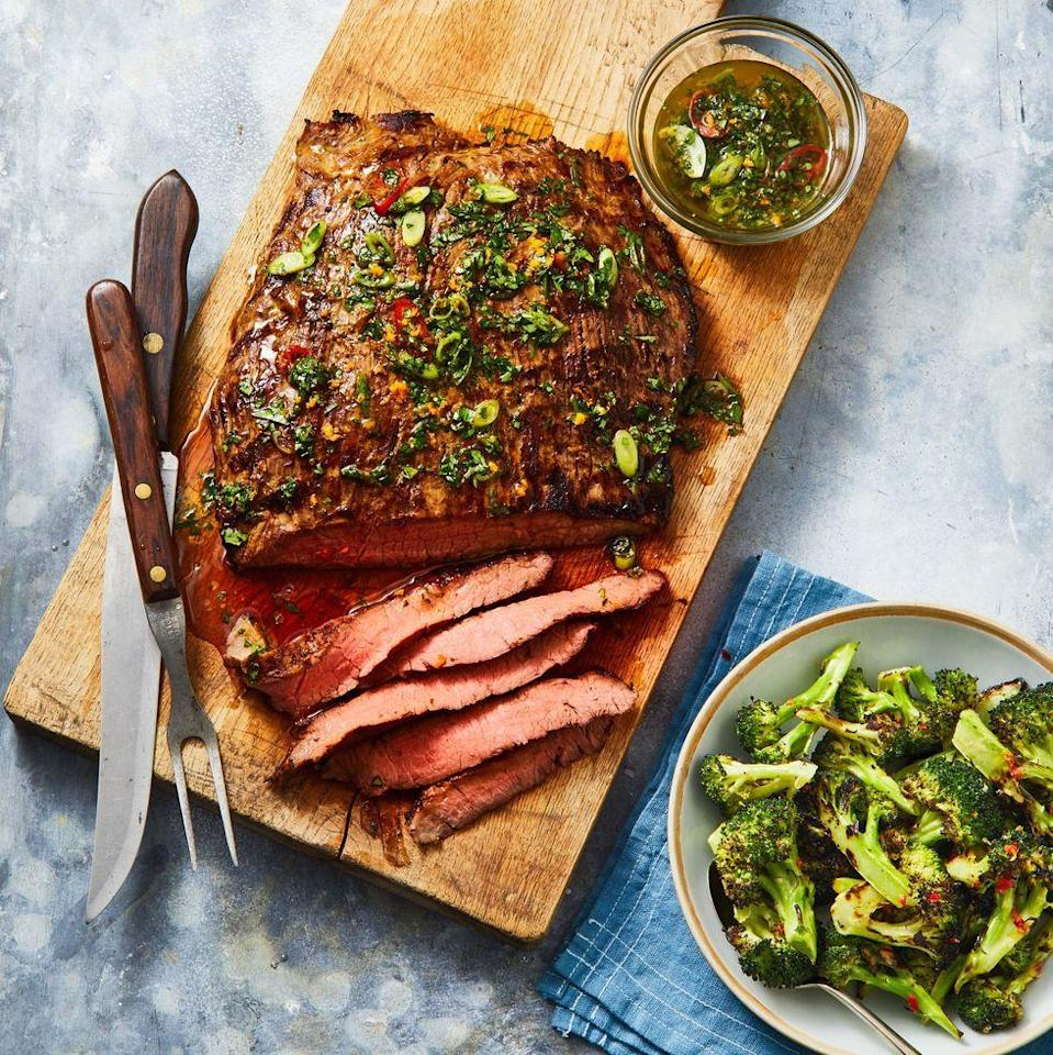 """<p>Introducing your summer grilling secret weapon: marinade recipes. Laced with fresh herbs, citrus zest, fragrant aromatics and other flavor-enhancing ingredients, these homemade marinade ideas are the best way to infuse any protein (or vegetable!) with deliciousness from the inside-out. Plus, a good marinade keeps your <a href=""""https://www.goodhousekeeping.com/food-recipes/easy/g2134/grilled-chicken-recipes/"""" rel=""""nofollow noopener"""" target=""""_blank"""" data-ylk=""""slk:grilled chicken"""" class=""""link rapid-noclick-resp"""">grilled chicken</a> moist and any <a href=""""https://www.goodhousekeeping.com/food-recipes/g2346/steak-recipes/"""" rel=""""nofollow noopener"""" target=""""_blank"""" data-ylk=""""slk:steak recipe"""" class=""""link rapid-noclick-resp"""">steak recipe</a> extra-juicy. Just 30 minutes in a marinade will improve the flavor and texture of your meal, but feel free to leave larger cuts of meat in the marinade for several hours (which makes these recipes a great start to a <a href=""""https://www.goodhousekeeping.com/food-recipes/easy/g4900/easy-make-ahead-meals/"""" rel=""""nofollow noopener"""" target=""""_blank"""" data-ylk=""""slk:make ahead meal"""" class=""""link rapid-noclick-resp"""">make ahead meal</a>!).</p>"""