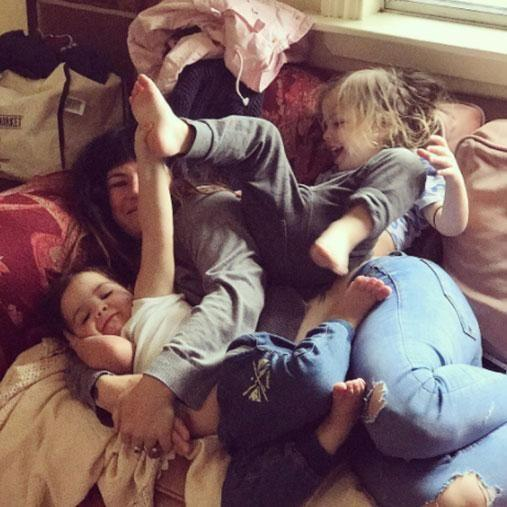 Constance is mum to her four kids, as well as her fiance's two sons. Photo: Instagram