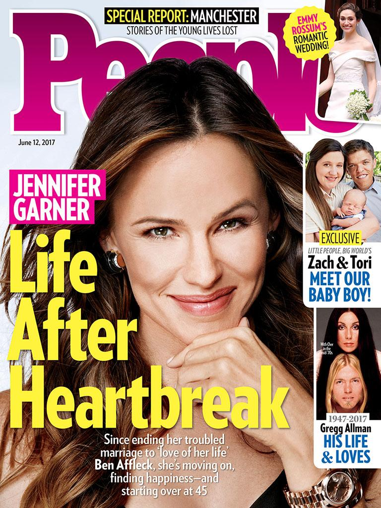 People magazine looks into Jennifer Garner's life after her split with Ben Affleck in this week's issue. She's not ready to date, according to the mag. (Photo: People)