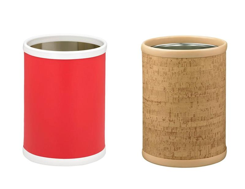 Surely this is the last thing you think about when outfitting your bathroom because, I mean, can you even see it? The answer: YES! You always notice a wastebasket because there is almost always something to throw away. It also provides a good opportunity to introduce new textures or a pop of color to the space. We love the Kraftware line of vibrant and natural wastebaskets. SHOP NOW: Fun colors wastebasket in red by Kraftware, $23.99, homedepot.com. SHOP NOW: Natural cork wastebasket by Kraftware, $28.12, homedepot.com.
