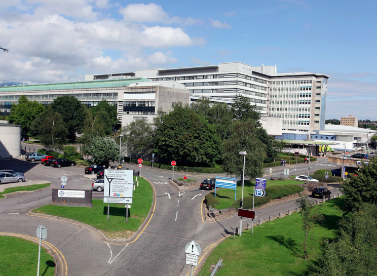 The dispute centred on parking at the University Hospital of Wales in Cardiff (Picture: Rex)