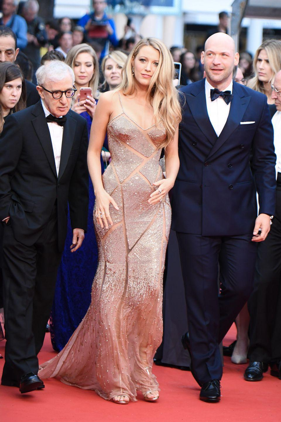 <p>Blake Lively in Atelier Versace</p>