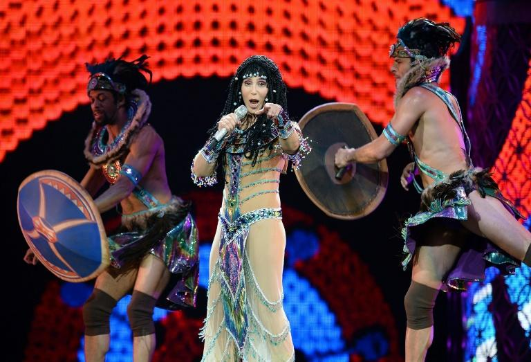 US singer Cher, shown here performing in Las Vegas, Nevada in 2014, has long called for Kaavan's release (AFP Photo/Ethan Miller)