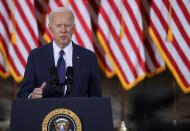 U.S. President Biden holds infrstructure event at Carpenters Pittsburgh Training Center in Pittsburgh, Pennsylvania