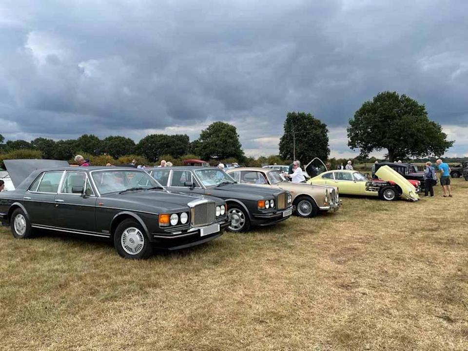 The most recent show in September saw over 150 vintage motors displayed at Lupin Farm in Staffordshire. (Collect/PA Real Life)