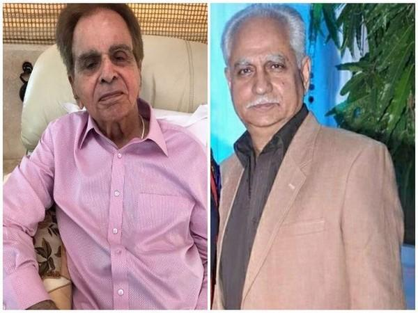 Dilip Kumar and Ramesh Sippy (Image source:  Twitter and Instagram)