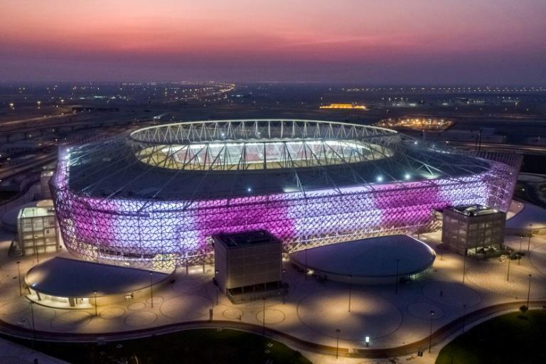 Qatar's Ahmad Bin Ali stadium, which will host World Cup 2022 matches and opened its doors with a domestic cup final