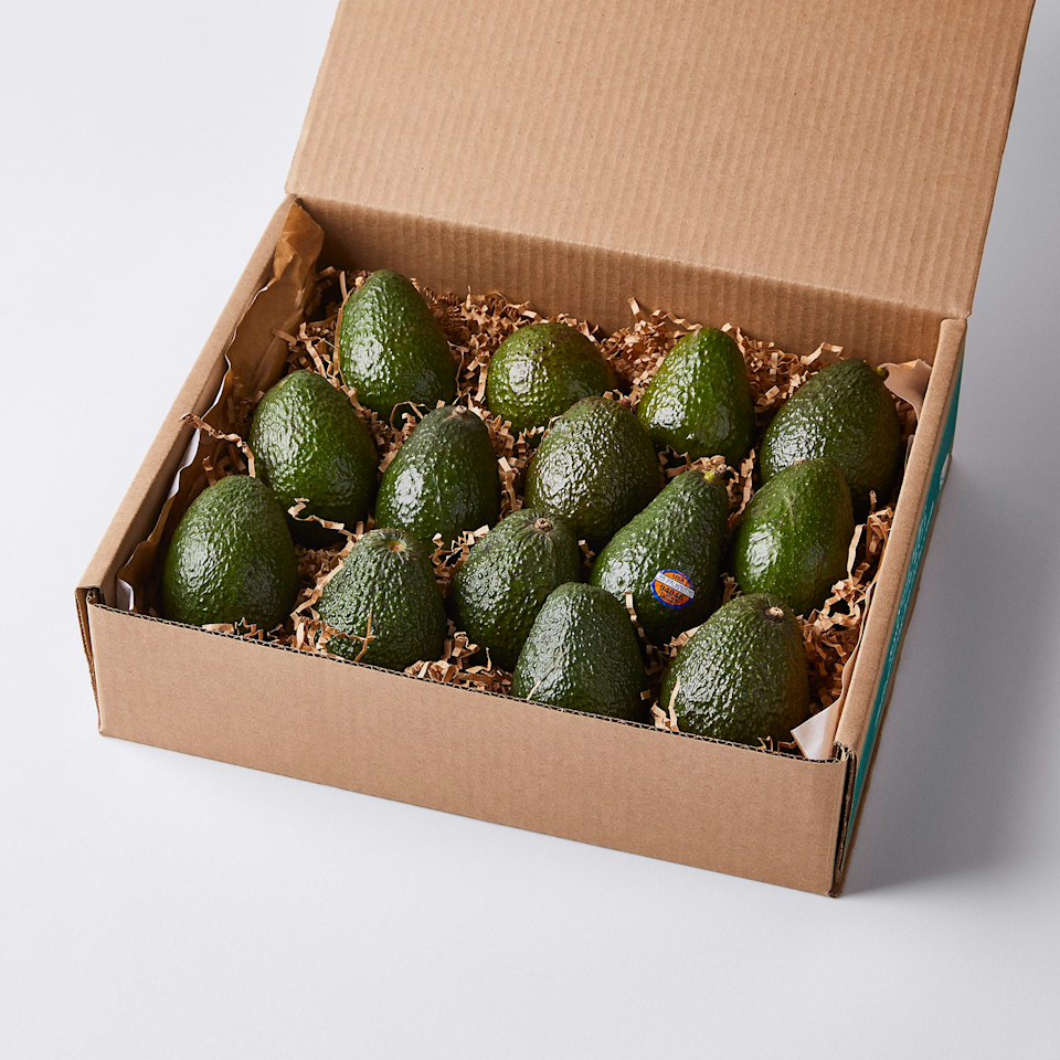 """<h2>Frog Hollow Farm Organic Avocados </h2><br>What's a more luxurious springtime gift than a five-pound shipment of the most perfectly ripe, organic, and sustainably-farmed avocados. Guac anyone?<br><br><strong>Frog Hollow Farm</strong> Frog Hollow Farm Organic Avocados, $, available at <a href=""""https://go.skimresources.com/?id=30283X879131&url=https%3A%2F%2Ffood52.com%2Fshop%2Fproducts%2F7700-frog-hollow-farm-organic-avocados"""" rel=""""nofollow noopener"""" target=""""_blank"""" data-ylk=""""slk:Food52"""" class=""""link rapid-noclick-resp"""">Food52</a>"""