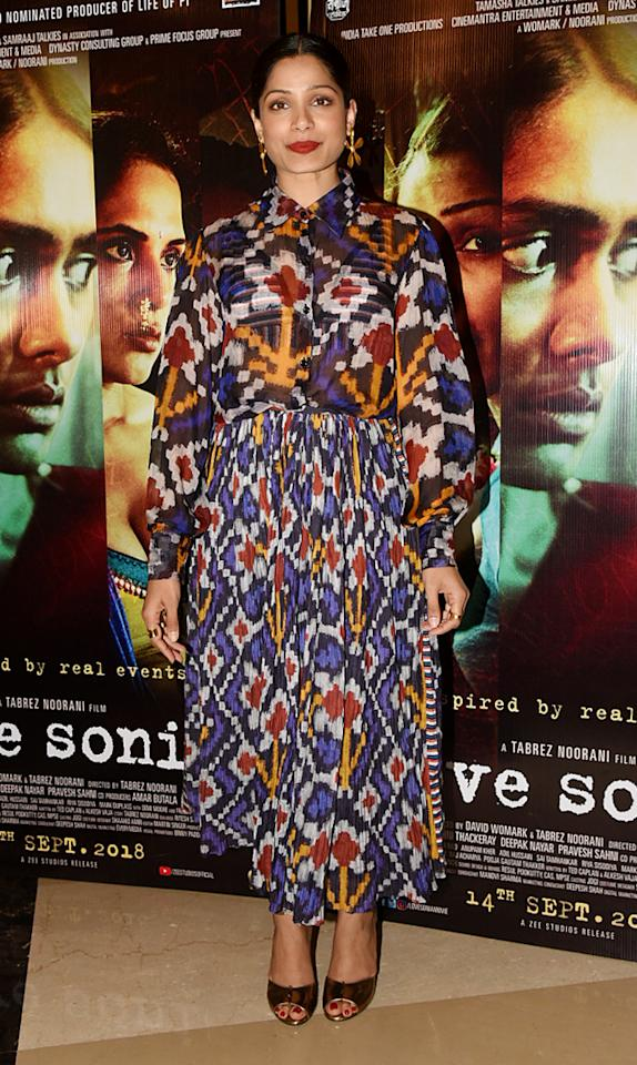 <p>Screening of 'Love Sonia' </p>