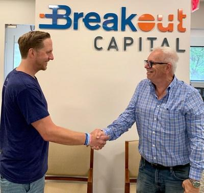 Carl Fairbank (left) and Steve Russell, look forward to a successful future through a shared vision of empowering small business.