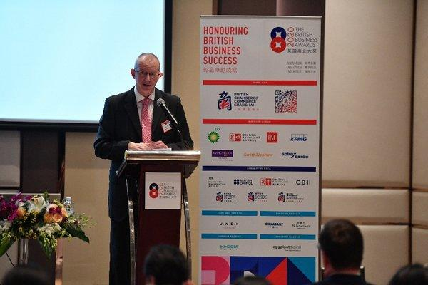 Ray Chisnall, Chairman of the British Business Awards 2020, Vice Chair of the British Chamber of Commerce Shanghai