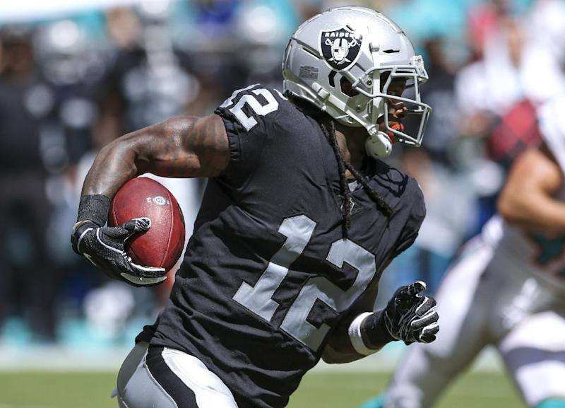 National Football League suspends Raiders receiver Bryant indefinitely