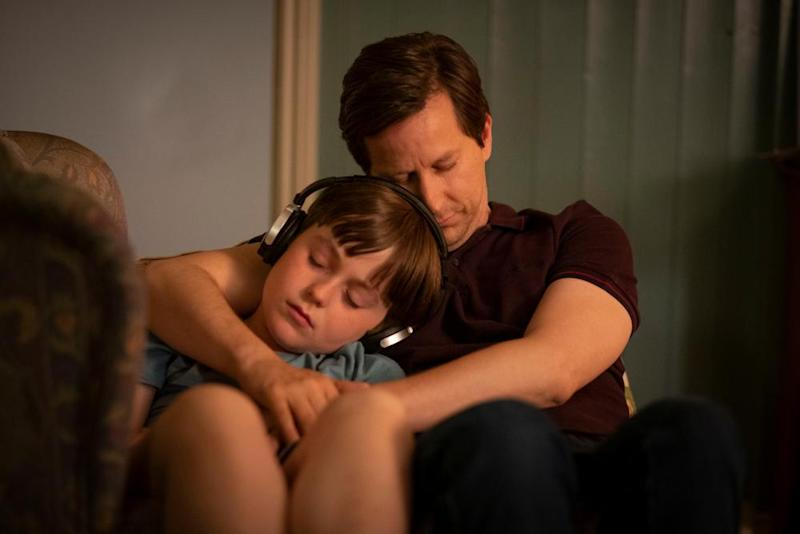 Joe (Max Vento) and Paul (Lee Ingleby) in The A Word
