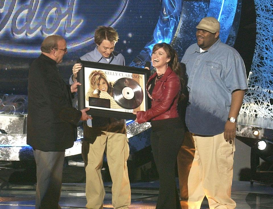 "<p>After winning <em>American Idol, </em>that season's lucky finalist has to sign a record deal with <a href=""https://www.mjsbigblog.com/american-idol-contestant-contract-see-what-the-2019-winner-earns.htm"" rel=""nofollow noopener"" target=""_blank"" data-ylk=""slk:Hollywood Records"" class=""link rapid-noclick-resp"">Hollywood Records</a>. The deal is negotiated prior to winning the show. </p>"