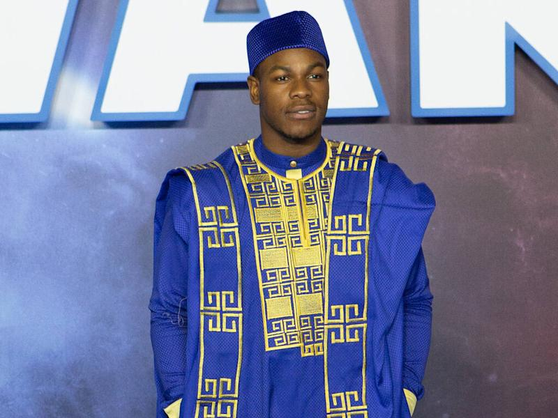 John Boyega's sister designed traditional Nigerian outfits for Star Wars premiere