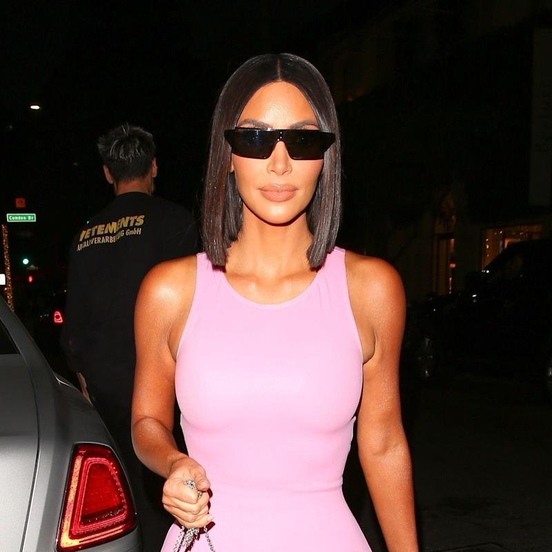 0a2ab6d3102 Kim Kardashian West's Latest Look? Latex Barbie, Of Course