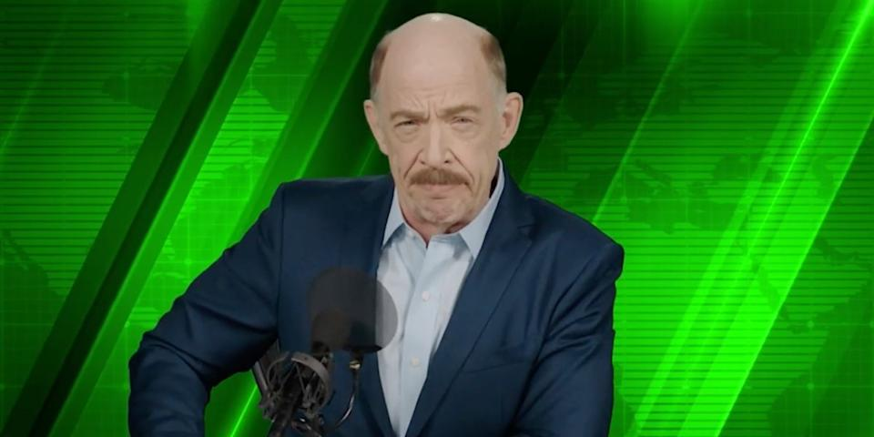 JK Simmons called portraying J Jonah Jameson one of the highlights of his career (Image by Marvel Studios)