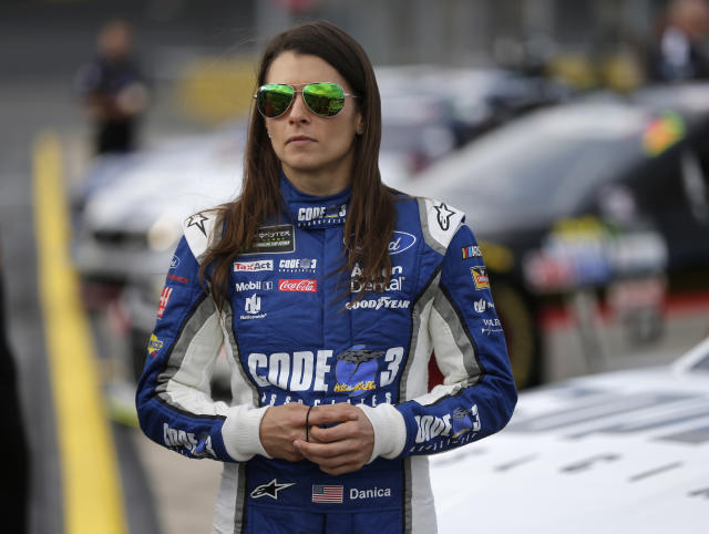Danica Patrick is done at Stewart-Haas Racing and her future in NASCAR is now up in the air. (AP)