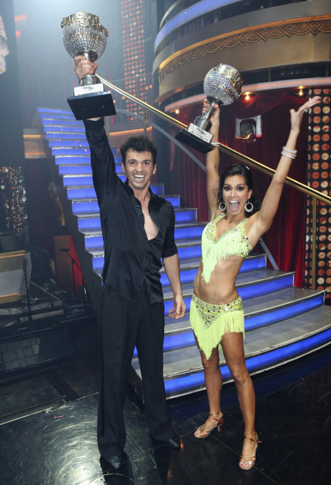 "DANCING WITH THE STARS: ALL-STARS - ""Episode 1510A"" - Melissa Rycroft and Tony Dovolani were crowned champions of this all-star season, on the Season Finale of ""Dancing with the Stars: All-Stars,"" TUESDAY, NOVEMBER 27 (9:00-11:00 p.m., ET) on the ABC Television Network. (Photo by Adam Taylor/ABC via Getty Images)