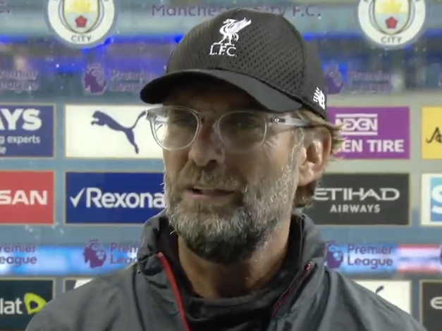 Jurgen Klopp after his team's 4-0 loss at the Etihad: Sky Sports