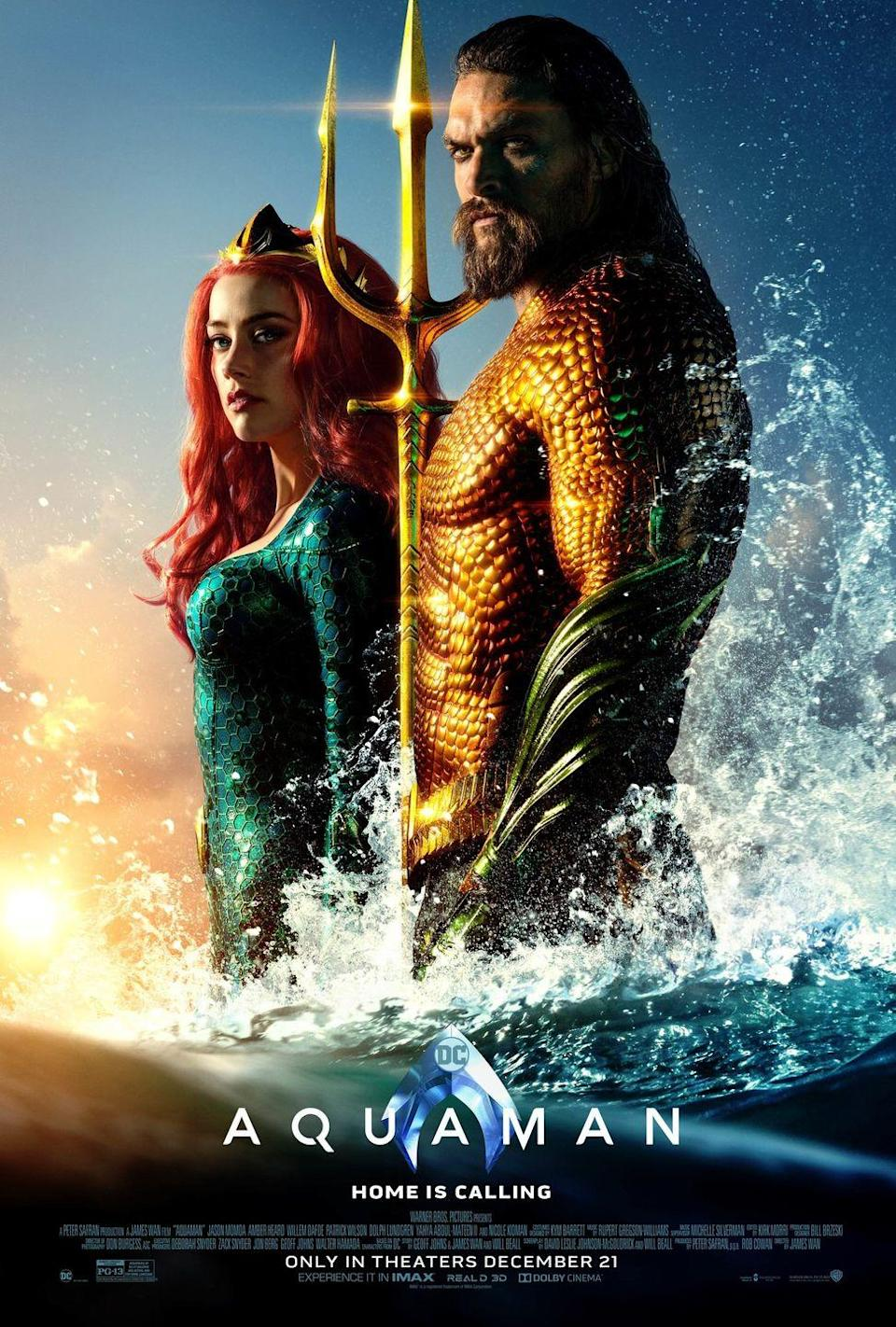 <p>After all the ups and downs (mostly downs) of the modern DC movie franchise, <em>Aquaman</em> had a lot working against it. Even without the context of the disastrous DC Extended Universe, it would have been hard to make the case for an Aquaman movie. Aquaman as a character is historically not cool. Who wants to see some dude ride around on a dolphin? Only Jason Momoa is badass enough to erase all preconceived notions of the character. This is a hard-drinking, blue-collar, <em>Deadliest Catch</em> of a man. And even though this film is baffling and overwrought, at least it's still a lot of fun—as long as you can ignore the CGI hair and general plot.</p>