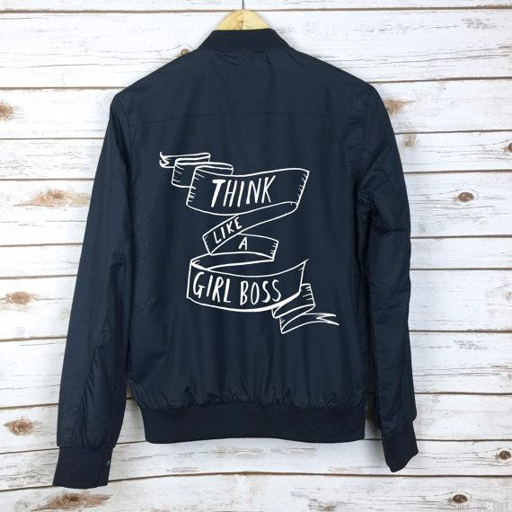 50ed02cc Say it like you mean it! 8 cheeky slogan jackets to rock right now