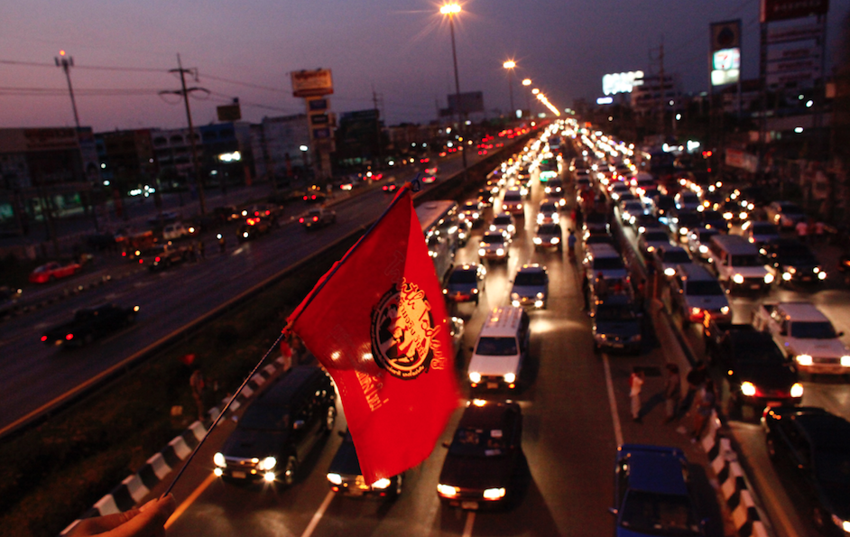 <p>Bangkok, Thailand – Congestion level 61% </p>