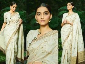 Sonam Kapoor in Sabyasachi saree is your perfect fashion muse this Diwali